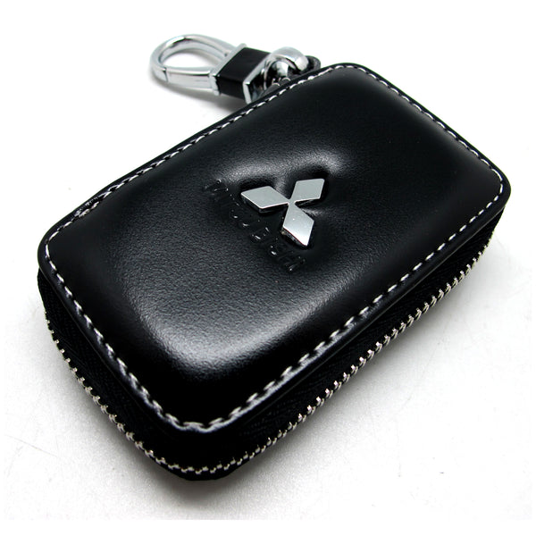 Genuine Leather Car Key Cover (Mitsubishi)