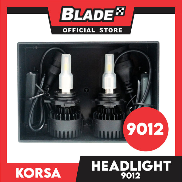 Korsa LED Headlight Automobile Air-Cooled Series 9012