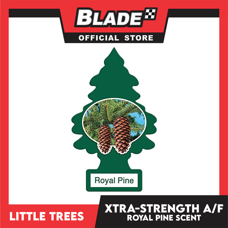 Little Trees Car Air Freshener X-tra Strength 10601 Royal Pine - Little Hanging Tree Provides Long Lasting Scent for Auto or Home