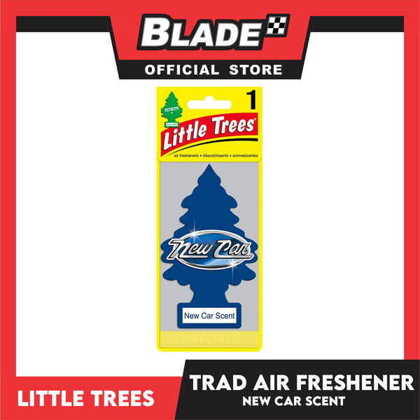 Little Trees Car Air Freshener 10189 New Car Scent - Little Hanging Tree Provides Long Lasting Scent for Auto or Home