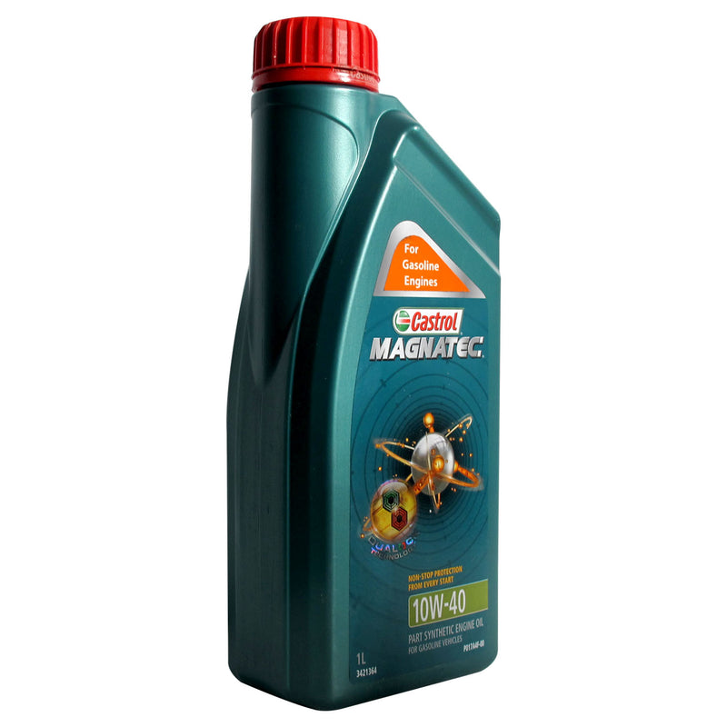 Castrol Magnatec Non-Stop Protection 10W-40 Part Synnthetic Engine Oil for Gasoline Vehicles 1L