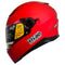 HIRO Helmet HD-09B Matte Red (Full face)