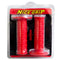 Nice Grip Bike Handle Rubber Grip (Red Skull)