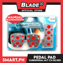 Pedal Pad Cubrepedal Manual Transmission CS-08 (Red)