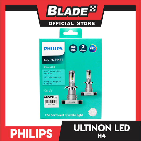 Philips Led H4 11342ULX2 8000 K 12V 15/15W (Pair)