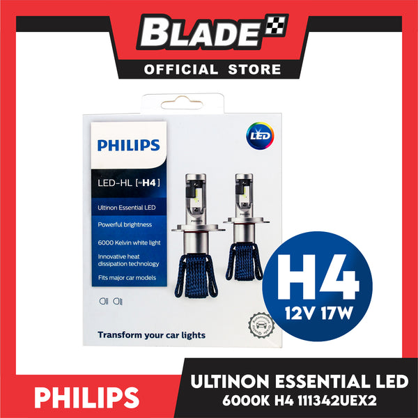 Philips LED H4 Ultinon Essential LED Powerful Brightness