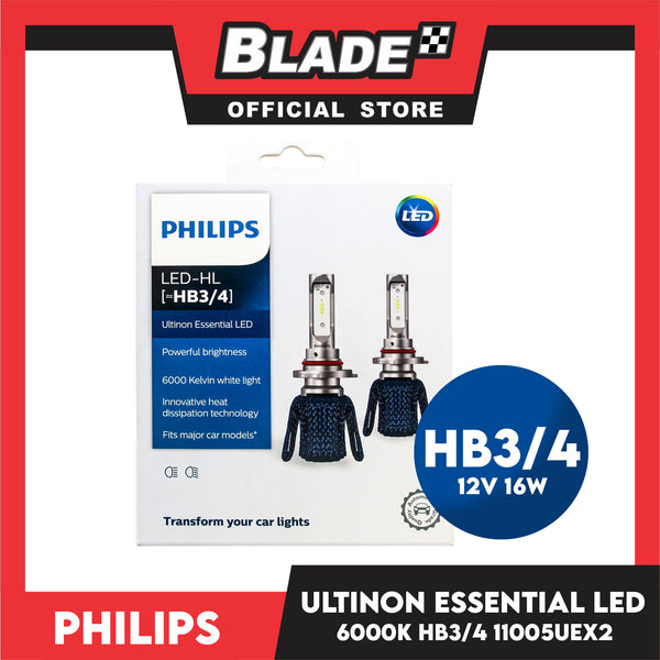 Philips LED HB3/4 Ultinon Essential LED Powerful Brightness