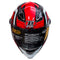 HIRO Helmet HD-09B Red Summer Dream (Full Face)