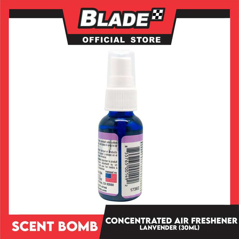 Scent Bomb Concentrated Air Freshener Lavender 30mL Spray