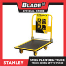 Stanley Steel Platform Truck PC-528 (300kg) Folding Trolley, Caddy, Push Cart, Hand Truck for Warehouse, Distribution and Delivery Use (Yellow)