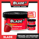 Blade Organic Air Freshener Strawberry 36g (Buy 2 Take 1 Free)