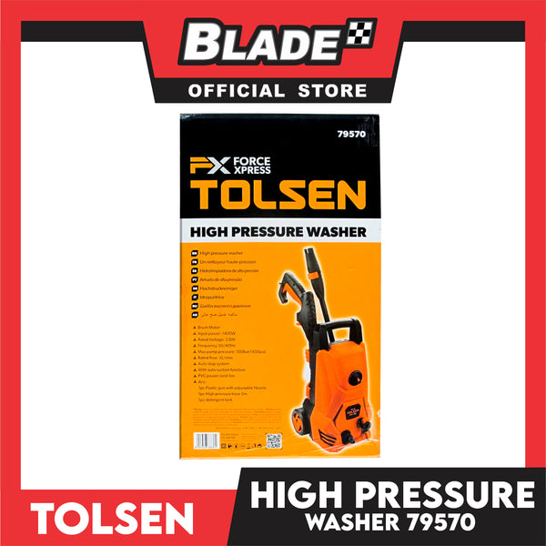 Tolsen High Pressure Washer FX 230V 1400W 79570