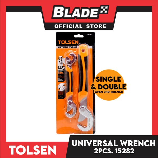 Tolsen Universal Wrench 15282 Single & Double Open End Wrench