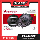 "Pioneer TS-A1680F 6.5"" 4-Way Speaker with Adapter"
