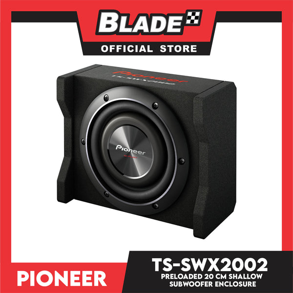 Pioneer TS-SWX2002 600W 8'' Shallow-Mount Pre-Loaded Enclosure Subwoofer