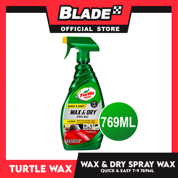Turtle Wax Wax and Dry 1-Step T-9 769ml