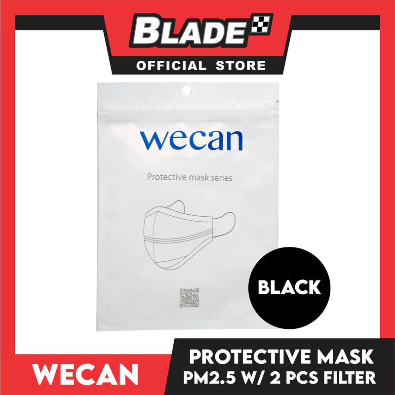 WECAN Protective Face Mask (Black)