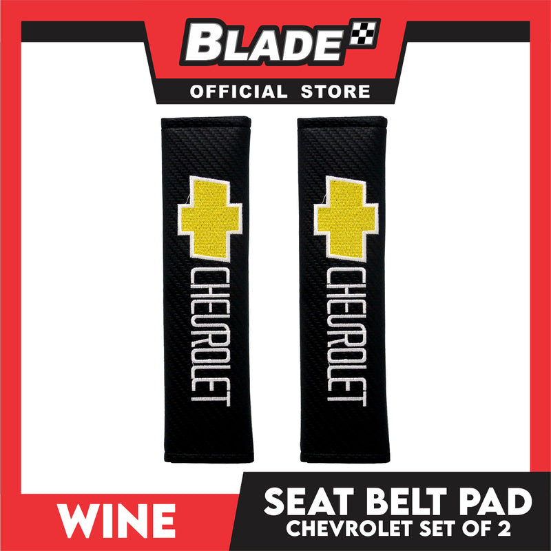 Wine Seat Belt Pad (Chevrolet) Set of 2