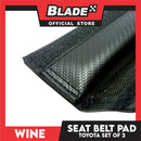 Wine Seat Belt Pad (Toyota) Set of 2