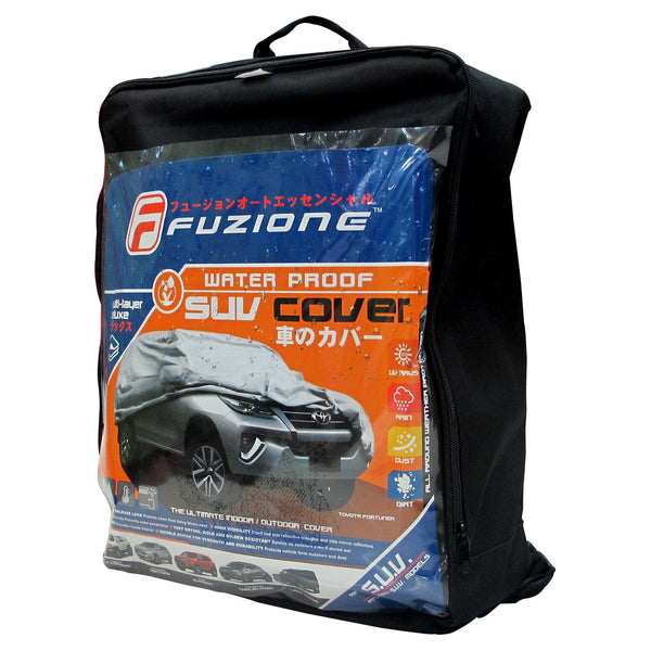 Fuzion Waterproof SUV Car Cover FCC-600(Grey)