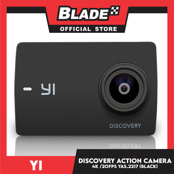 Yi Discovery Action Camera YAS.2217 - Action Cam, Backup Camera & 4k Video to Full HD