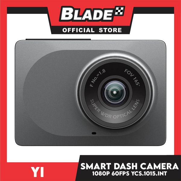Yi Smart Dash Camera YCS.1015.INT -Built-in Wi-Fi, Emergency recording with High Sensitivity Imaging and Night Vision