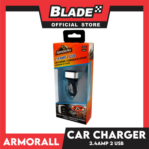 Armor All 2.4AMP Micro USB Car Charger AAC8-0101 (Black)