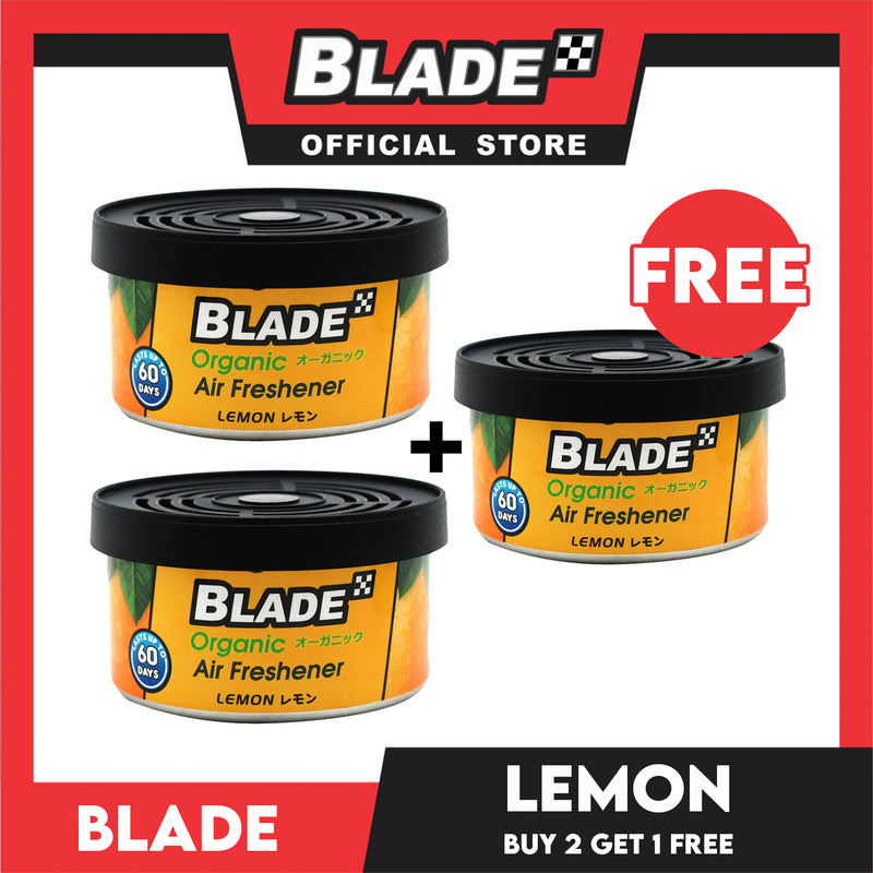 Blade Organic Air Freshener Lemon 36g. Buy 2 Take 1 Free