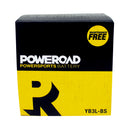 Poweroad Maintenance-Free Motorcycle Battery YB3L-BS