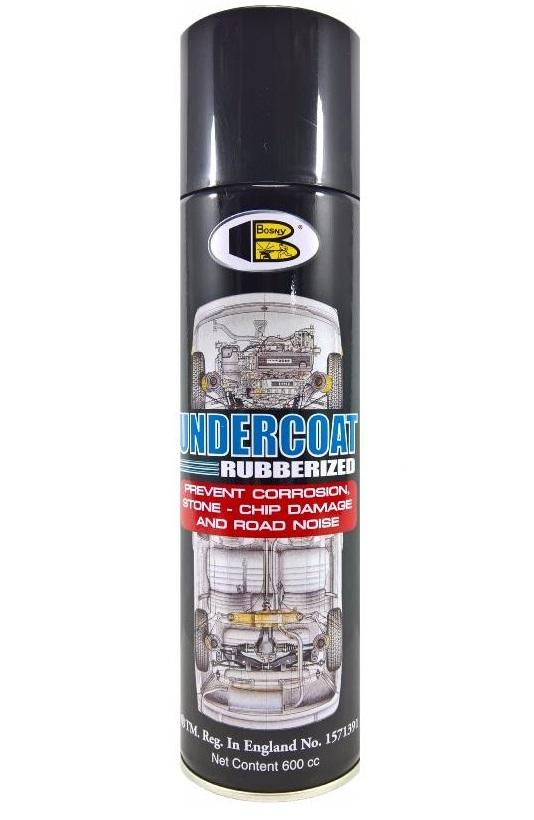 Bosny Undercoat Rubberized Spray Paint 600ml