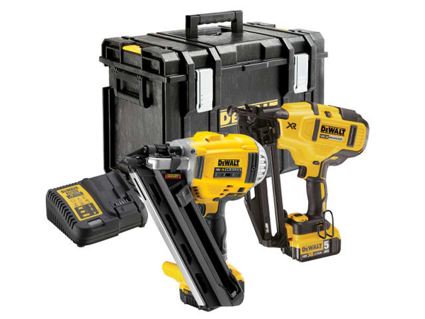 DCK264P2 XR Nailer Twin Pack 18 Volt 2 x 5.0Ah Li-Ion