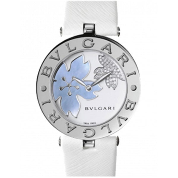 Bulgari B. Zero 1 30MM Stainless Steel 101900 BZ30FDSL Ladies Watch