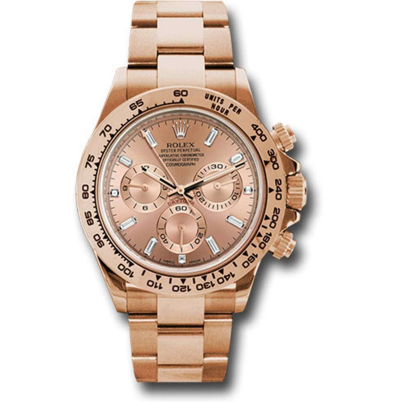 Rolex Day-Date 40  228235 18k Rose Gold Automatic Chocolate Roman Dial Men's Watch