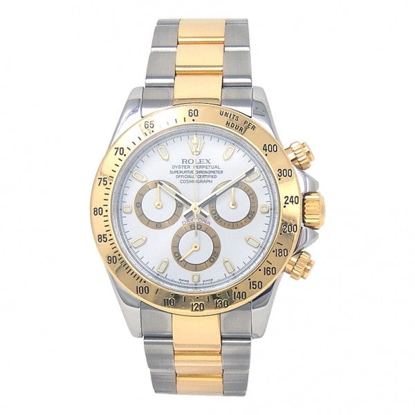 Rolex Daytona 116523 18k Yellow Gold & Stainless Steel Automatic Watch