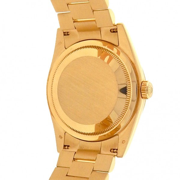 Rolex Day-Date President 118208 18k Yellow Gold Automatic White Men's Watch