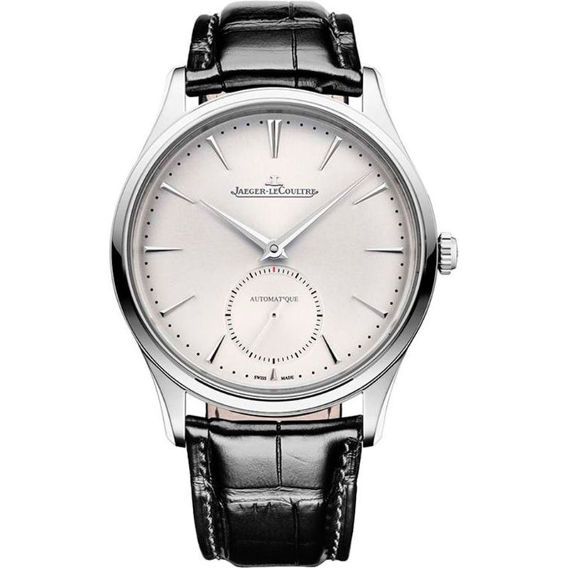 Jaeger Lecoultre Master Ultrathin Small Seconds Stainless Steel Automatic Men's Watch 1218420