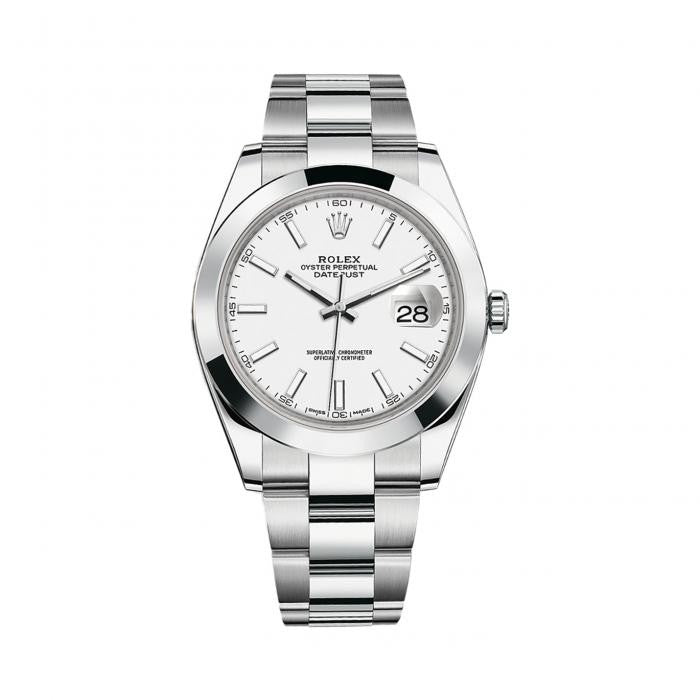 Rolex Datejust II 126300 Stainless Steel Automatic White Dial Mens Watch
