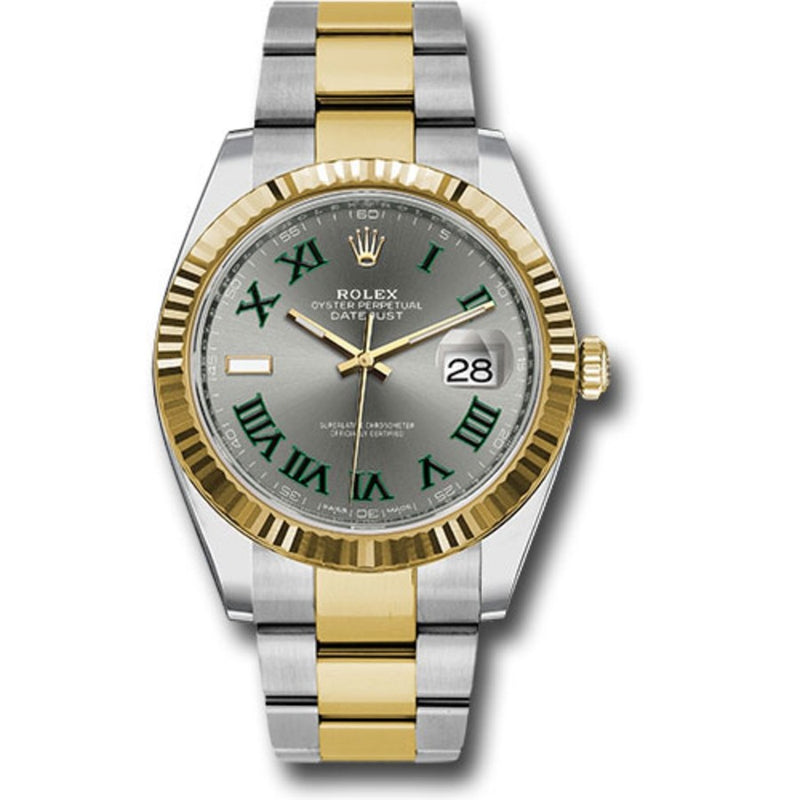 Rolex Datejust II 116333 18k Yellow Gold & Stainless Steel Oyster Automatic Men's Watch