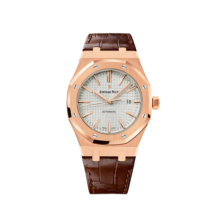 Audemars Piguet Royal Oak Self-Winding 18k Rose Gold 15400OR.OO.D088CR.01 Watch