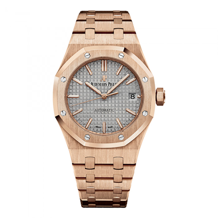 Audemars Piguet Royal Oak Self-Winding 18k Rose Gold 15450OR.OO.1256OR.01 Watch - ChronoNation