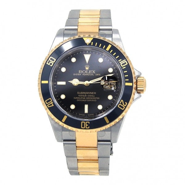 Rolex Submariner 16613 Stainless Steel & 18k Yellow Gold Automatic Men's Watch