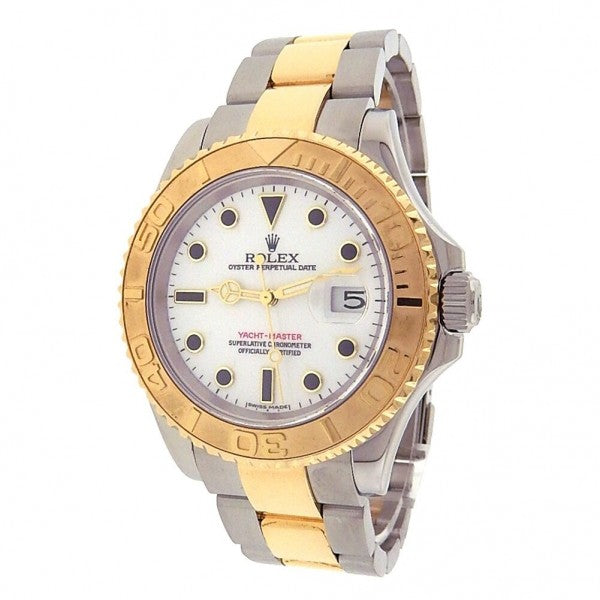 Rolex Yacht-Master 16623 18k Yellow Gold & Stainless Steel Automatic Watch - ChronoNation