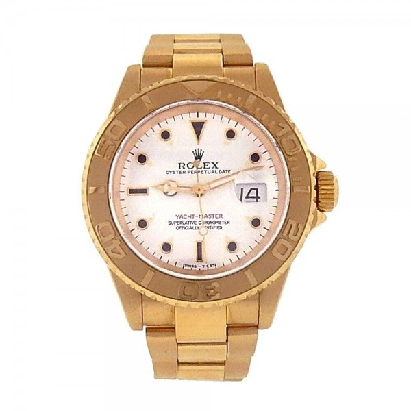 Rolex Yacht-Master 16628 18k Yellow Gold Automatic Watch - ChronoNation