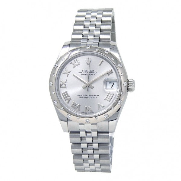 Rolex Datejust II 116334 18k White Gold & Stainless Steel Oyster Blue Roman Automatic Men's Watch