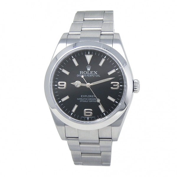 Rolex Explorer 214270 Stainless Steel Automatic Men's Watch - ChronoNation