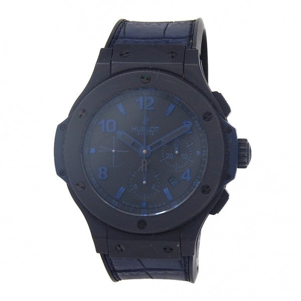 Hublot Big Bang All Black Blue Black Ceramic Auto Men's Watch 301CI1190GRABB09