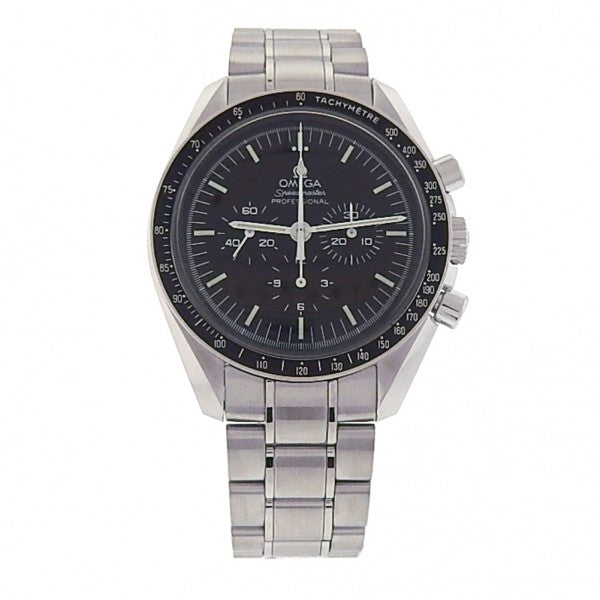 Omega Speedmaster S.S. Black Dial Automatic Chronograph Men's Watch 3539.50.00