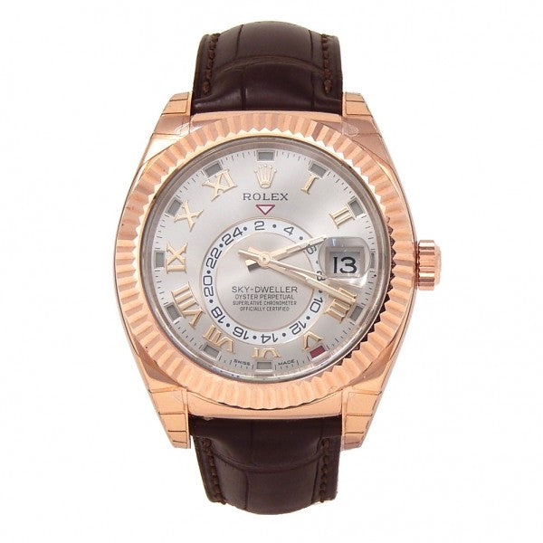 Rolex Sky-Dweller 326135 18k Rose Gold Automatic Men's Watch