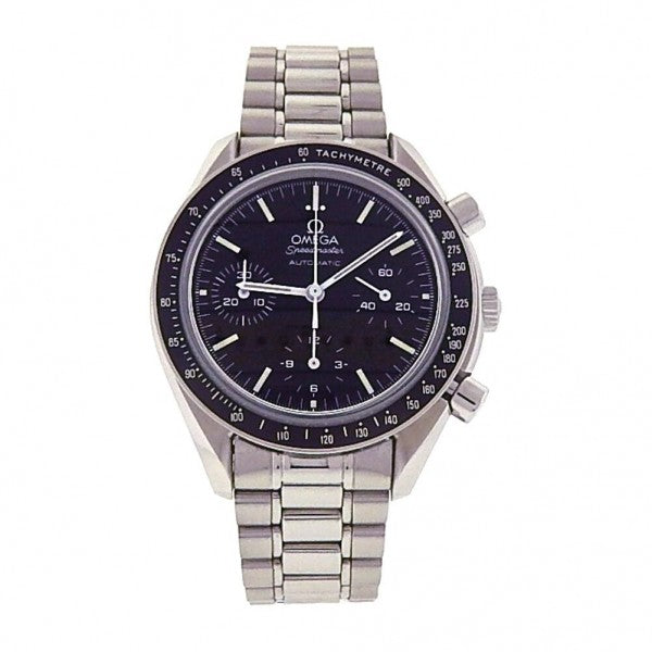 Omega Speedmaster S.S Mother of Pearl Diamond Bezel Automatic Watch 3515.73.00