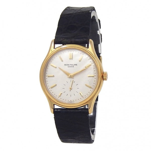 Patek Philippe Calatrava 18k Yellow Gold Hand Winding Men's Watch 3923J